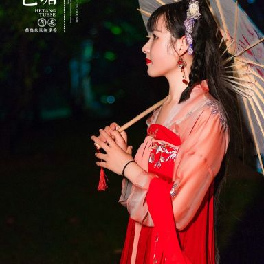 2018-08-03 夜景漢服 靜安雕塑公園_攝影師晦恩的返片