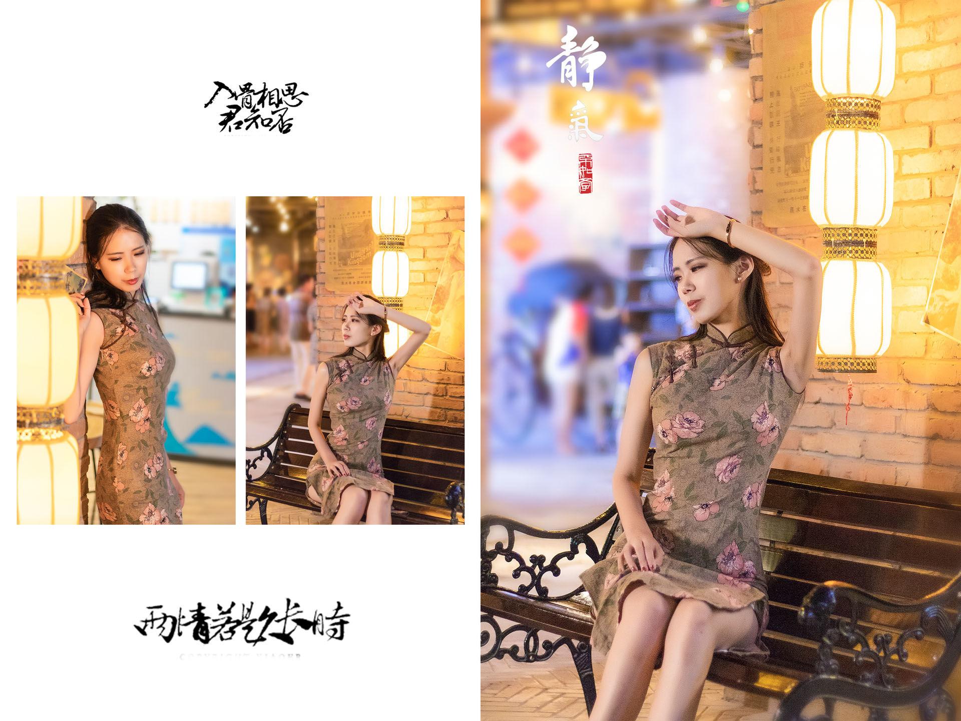 2018-08-09 世纪汇广场地下二层 老上海场景 偏复古风_摄影师晦恩的返片