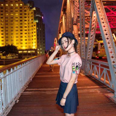 2018-08-25 外灘 白渡橋 人像攝影_攝影師沙丁魚的返片