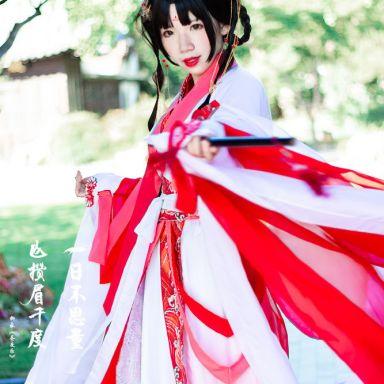 2018-07-22 桂林公園  彼岸花  古裝_攝影師晦恩的返片