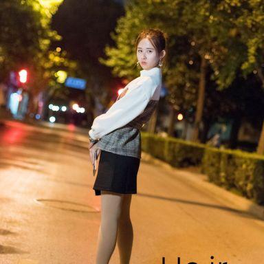 2018-10-14 淮海路夜景街拍_攝影師Hejr的返片