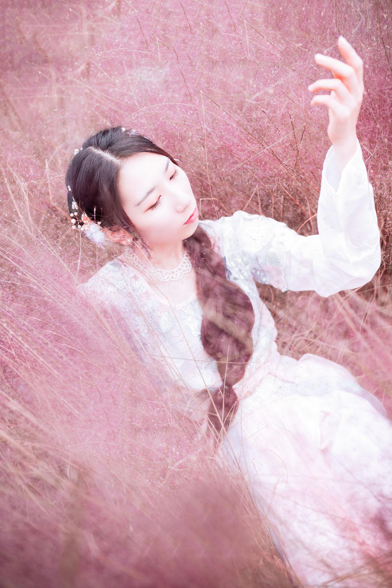 2018-10-14 上海植物園 粉黛亂草子_攝影師江南小生的返片