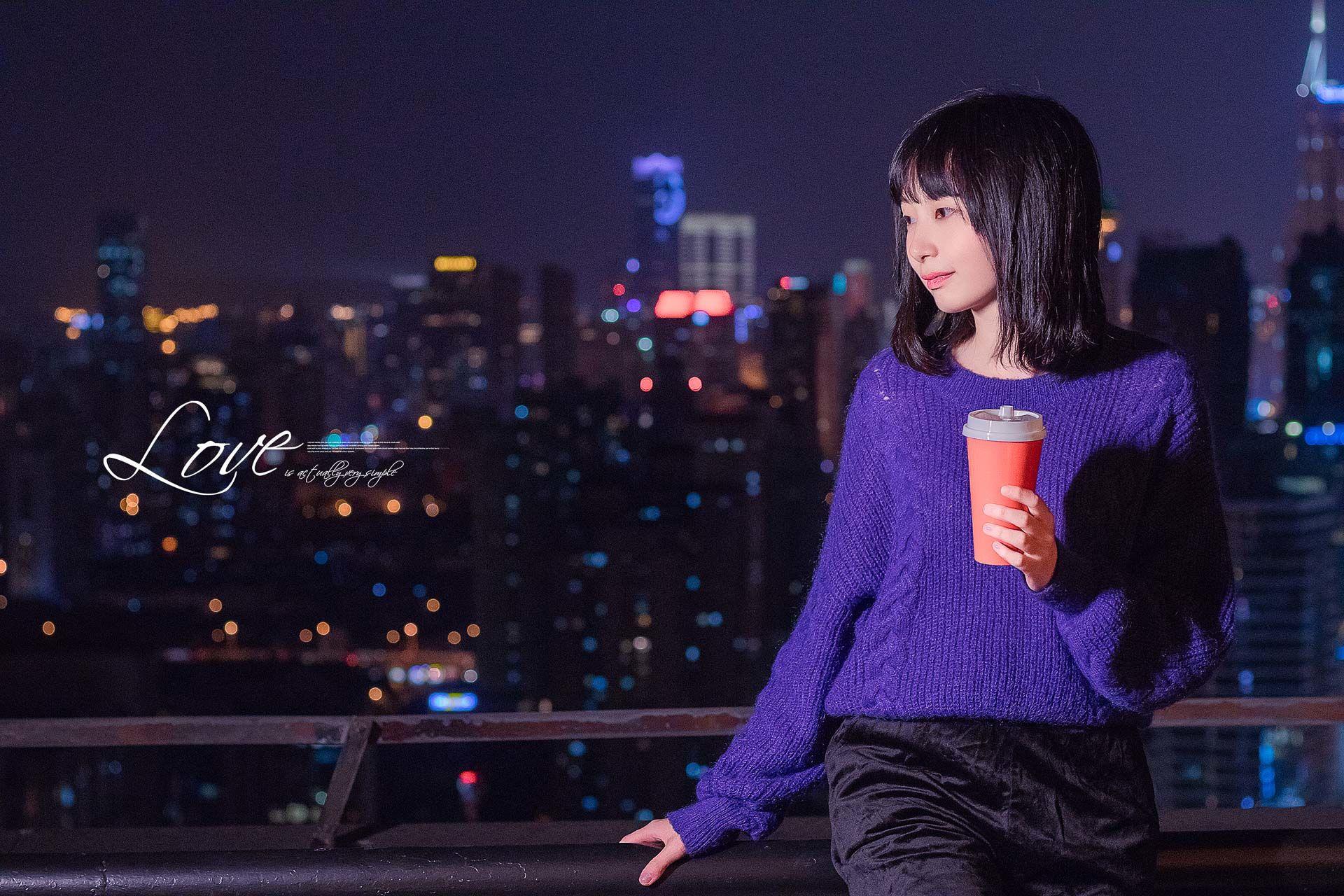2018-10-24 天臺夜景_攝影師晦恩的返片