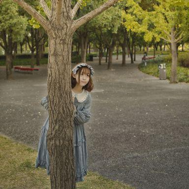 2018-11-03 后灘公園 少女 隨拍_攝影師唐杰客的返片