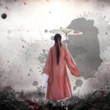 2018-11-10 萬竹園黃葉紅衣武俠風_攝影師江南小生的返片