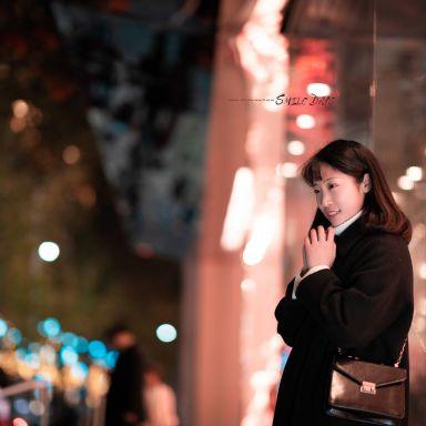 2018-12-24 南京西路夜景街拍_攝影師晦恩的返片