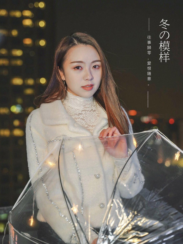 2019-01-21 天臺夜景情緒人像_攝影師藝馨的返片