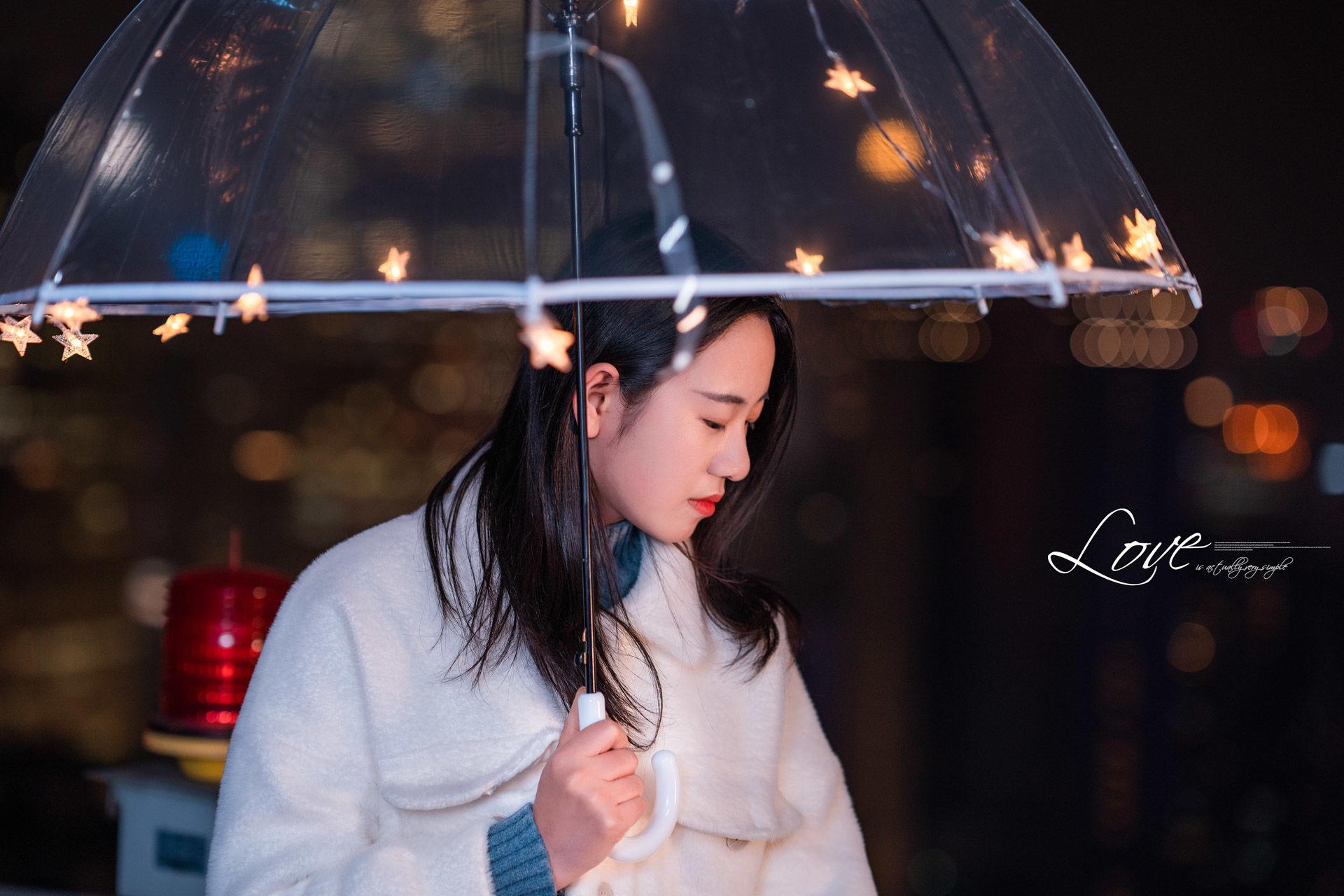 2019-01-21 天台夜景情绪人像_摄影师晦恩 模特冯雪