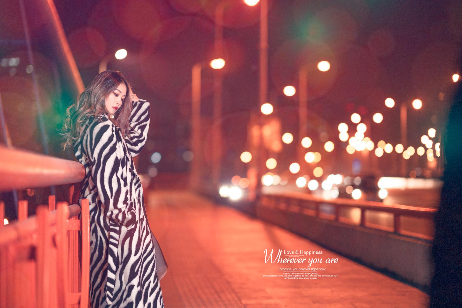 2019-01-22 漢中路高架夜景_攝影師晦恩 模特十八