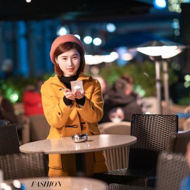 2019-01-24 新天地夜景街拍_摄影师晦恩 模特圆圆