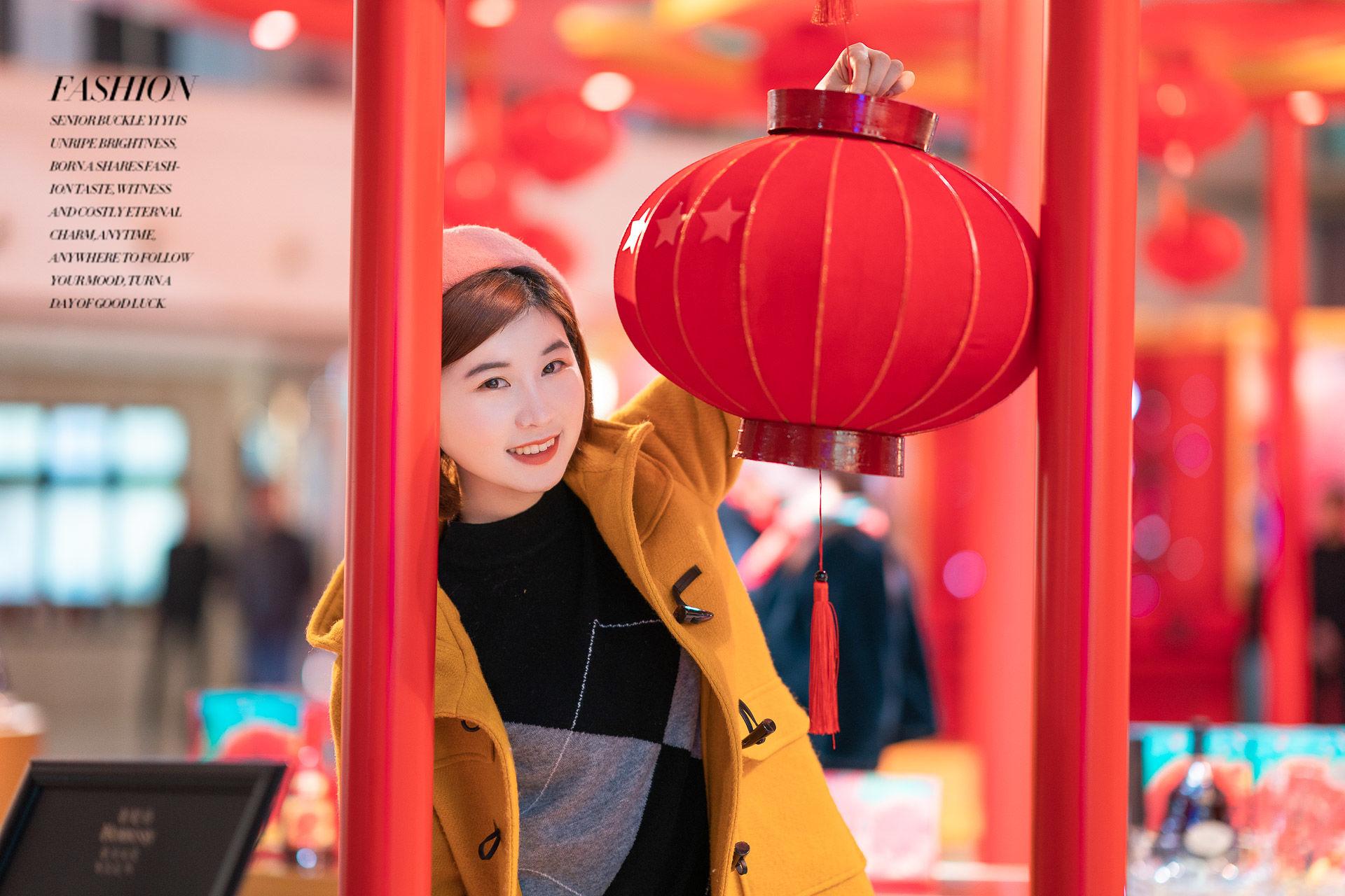 2019-01-24 新天地夜景街拍_攝影師晦恩 模特圓圓
