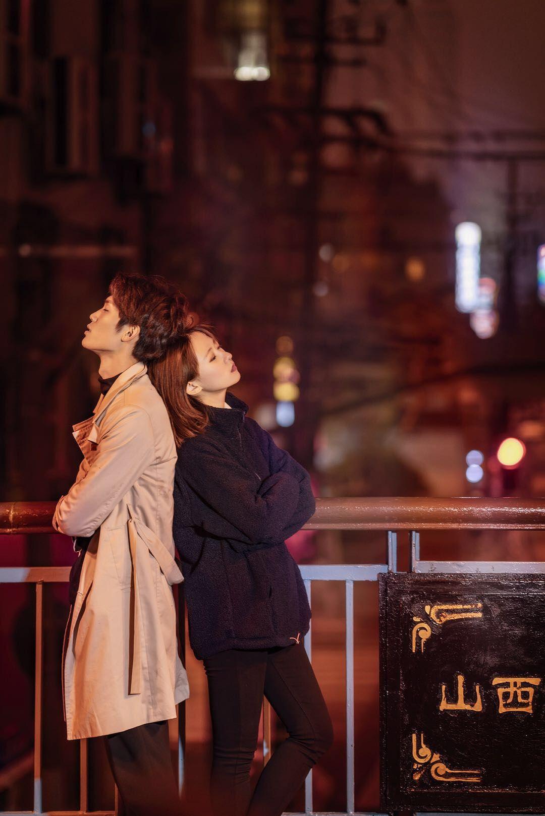 2019-02-03 外滩 傍晚+夜景 男女双人_摄影师艺馨的返片