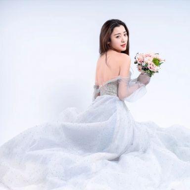 2019-02-13 礼服棚拍_摄影师晦恩 模特韩婷