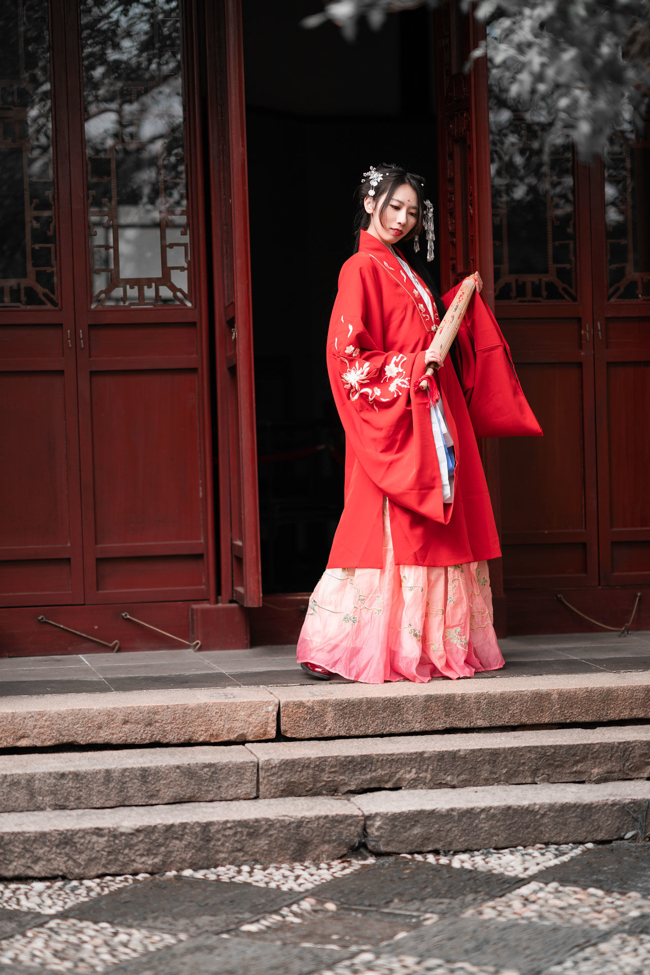 2019-02-17 蘇州天平山游玩加拍攝_攝影師晦恩 模特卿