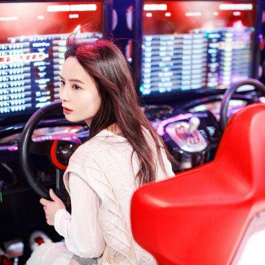2019-03-14 环球港 毛衣白裙 小清新_摄影师小刚的返片