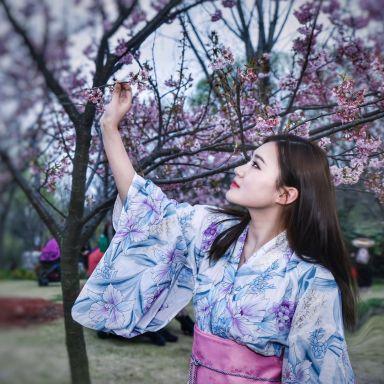 2019-03-16 顾村公园樱花摄影_模特小碎步的返片