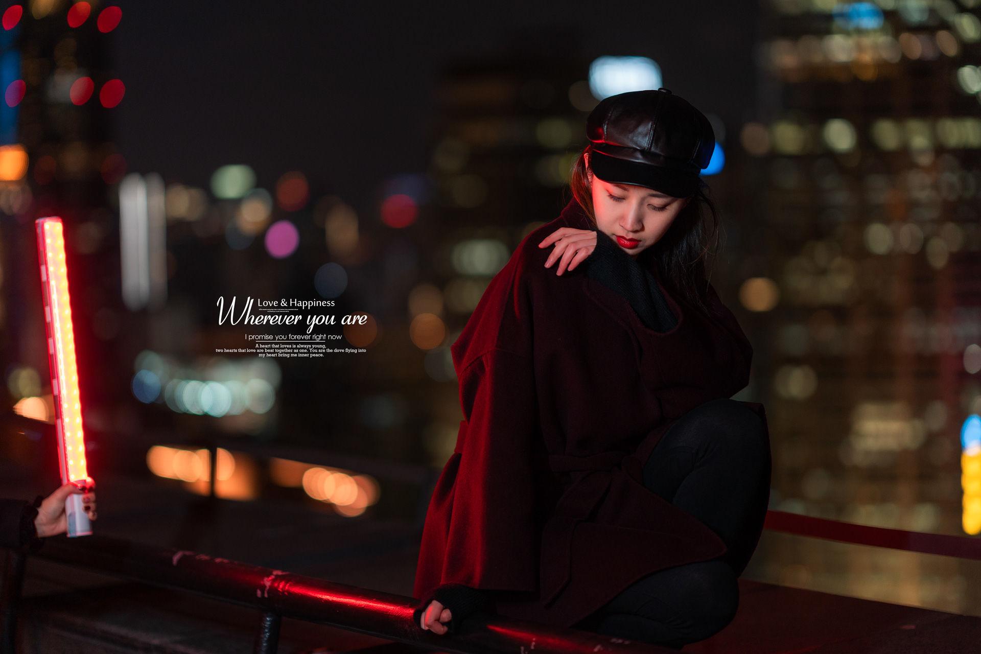 2019-03-22 天臺夜景 小清新仙女棒_攝影師蔣俞歡的返片