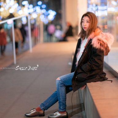 2019-03-23 南京西路夜景街拍_摄影师蒋俞欢的返片