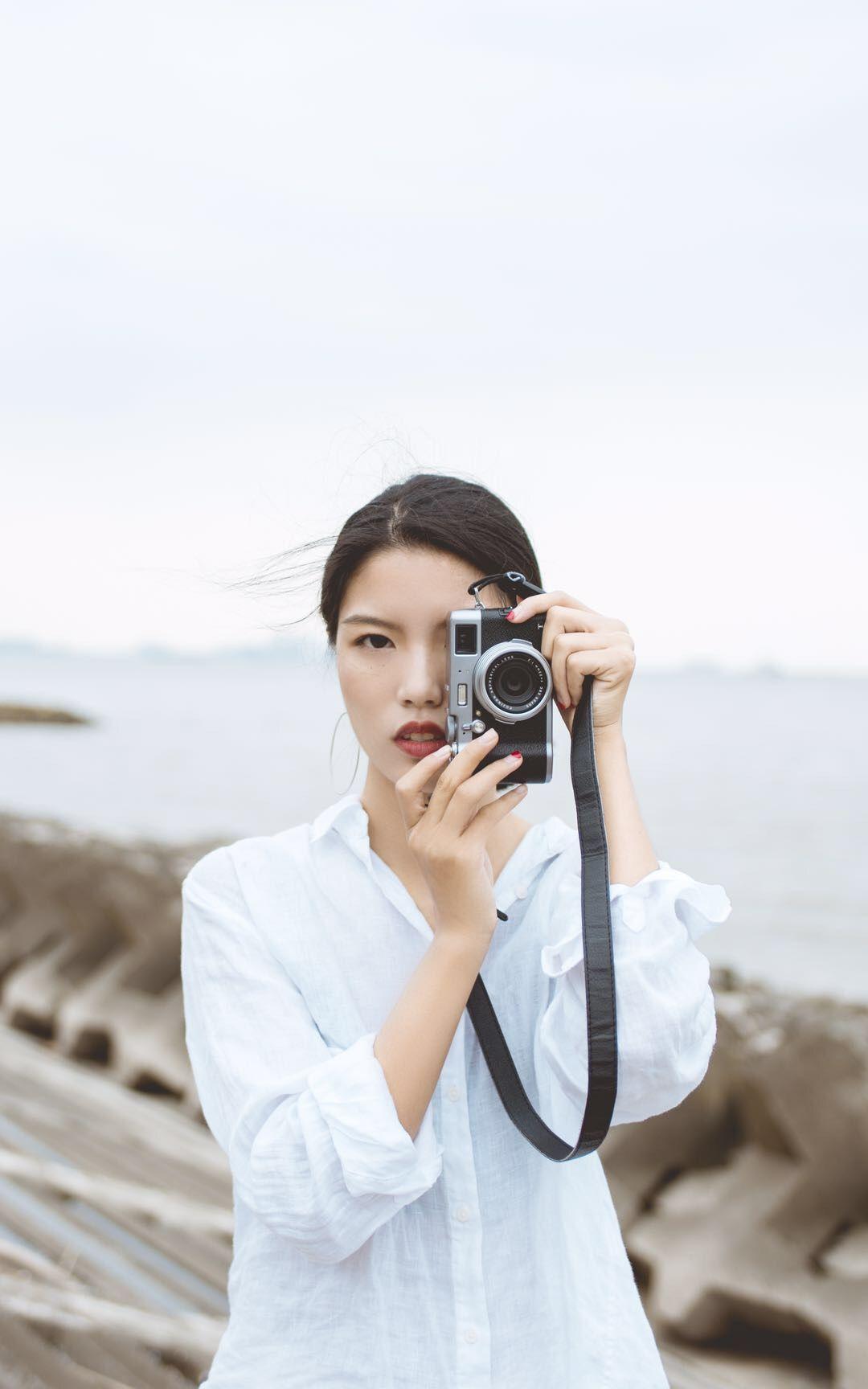 2019-03-14 環球港 毛衣白裙 小清新_攝影師RAMBO的返片