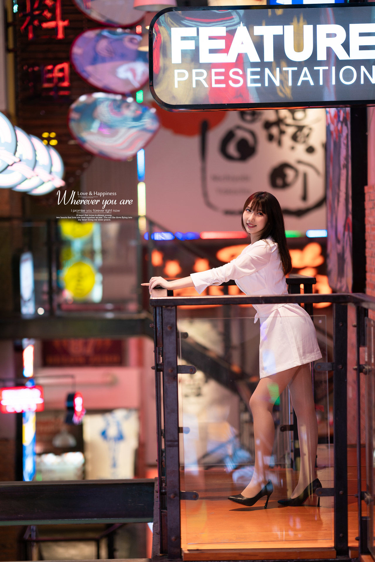 2019-04-06 白色連衣裙 靜安大悅城 _攝影師蔣俞歡 模特佳佳