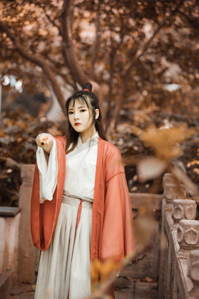 2019-04-07 桂林公園 暗紅色女俠古風 _攝影師江南小生的返片