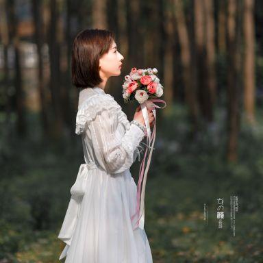 2019-04-07 胡静怡 共青森林公园 森系风格_摄影师蒋俞欢 模特胡静怡