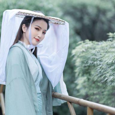 2019-05-19 桂林公園 帥氣青色武俠古風_攝影師蔣俞歡的返片