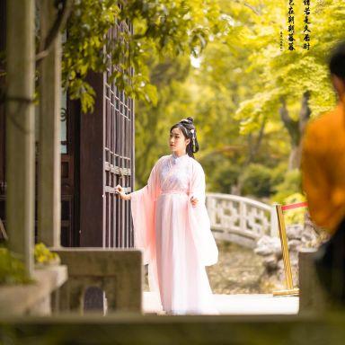 2019-05-25 桂林公園 粉色漢服_攝影師蔣俞歡的返片