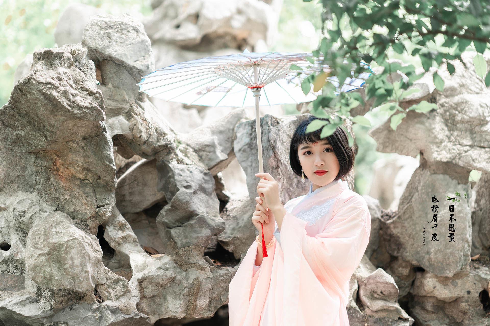 2019-05-25 桂林公园 粉色汉服_摄影师蒋俞欢的返片