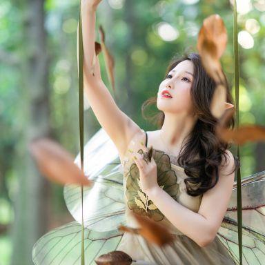 2019-06-15 共青森林公園 森系精靈 有翅膀_攝影師蔣俞歡的返片