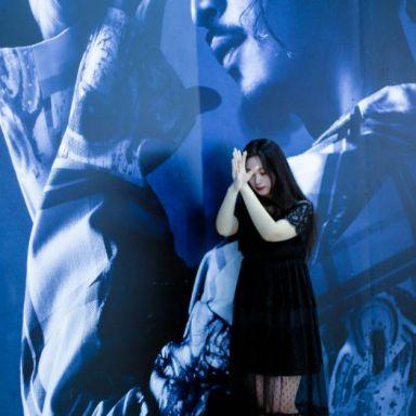 2019-06-28 送模特衣服活动 中山公园龙之梦商场 黑色连衣裙(M码)_摄影师晓磊的返片
